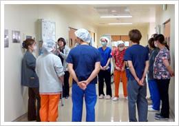 あんしん病院手術室のデブリーフィング