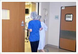 あんしん病院手術室へ入室