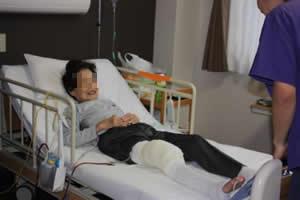 入 院中のリハビリの流れ